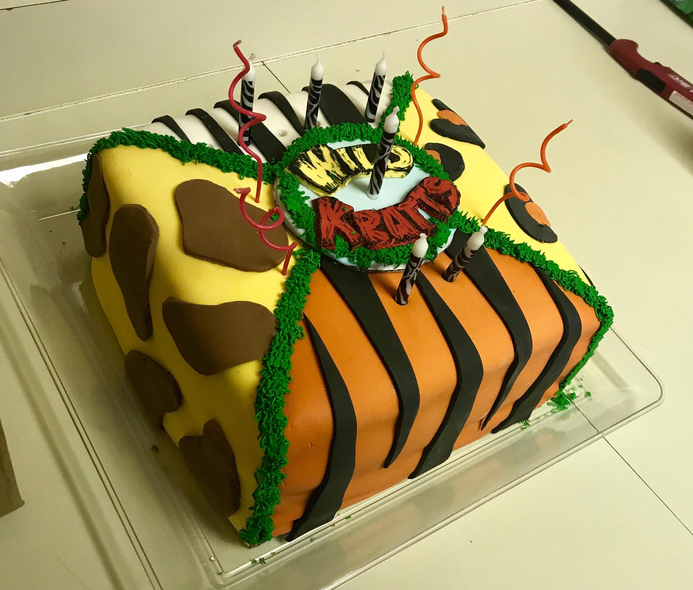 Strange Wildlife Sanctuary Wild Kratts Birthday Party A Little Knick A Personalised Birthday Cards Akebfashionlily Jamesorg